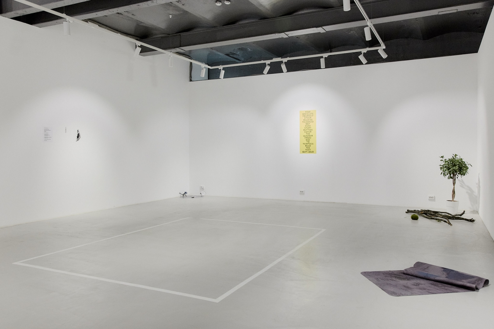Going Unconscious / Trembling / With Eyes Open / I See You / Surrender exhibition view, HSE ART gallery, 2018