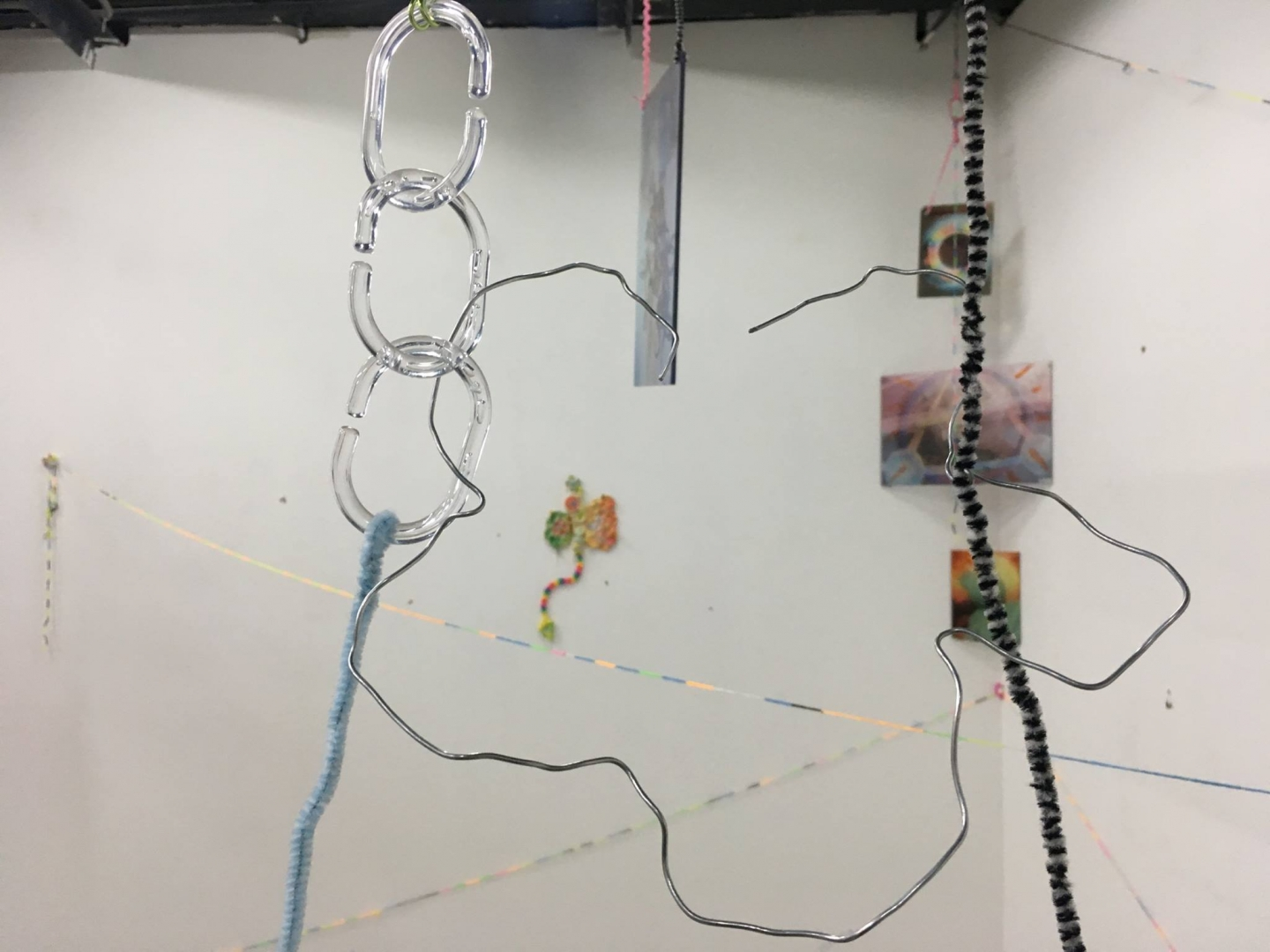 Liza Chukhlantseva's solo show You are Like Me in Youth Only Better, ISSMAG gallery, 2017