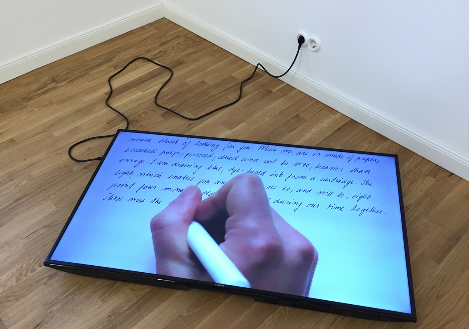 Katarina Hruskova - Pulp, an exercise on a page in time, 2016 (installation view).jpg
