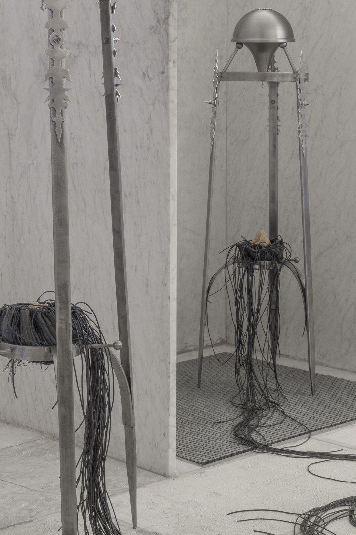 One drop at a time, series of objects, Kunsthalle Baden-Baden (Friedrichsbad), DE, 2020.